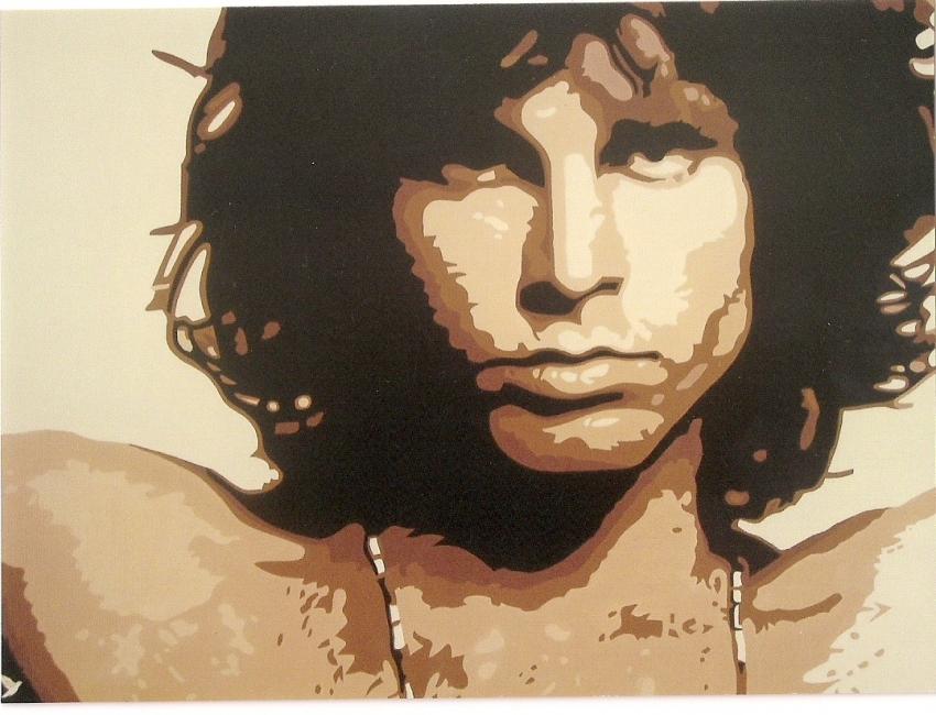 Jim Morrison par @do
